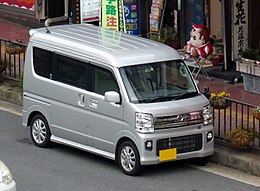 Nissan NV100 CLIPPER RIO G High-Roof (ABA-DR17W) front.jpg