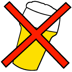 English: No alcohol logo No beer logo Nederlan...