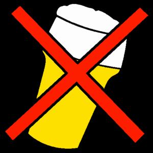 English: No alcohol logo No beer logo Nederlan...