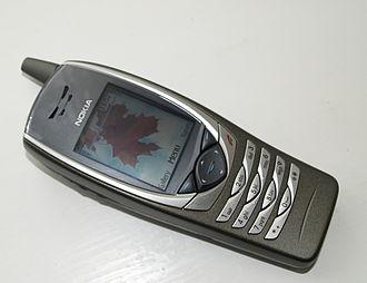 UMTS - The Nokia 6650, an early (2003) UMTS handset