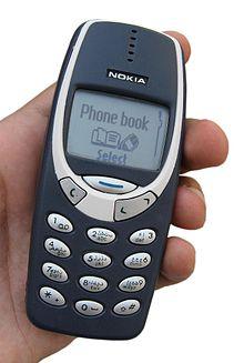 Esemplare classico di telefono cellulare