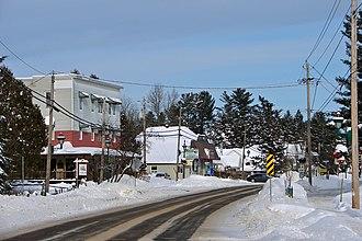Nominingue, Quebec - Image: Nominingue QC 1