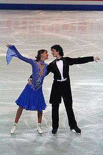 Attila Elek Hungarian ice dancer
