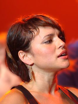 Norah Jones op het North Sea Jazz festival in Rotterdam in 2010