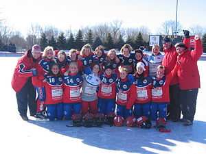 Norway women's national bandy team - The Norwegian women's national bandy team in 2006