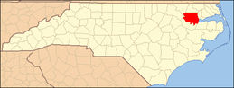 North Carolina Map Highlighting Bertie County.PNG