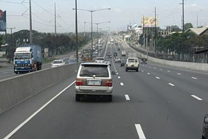 Northbound on the North Luzon Expressway.jpg