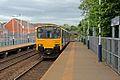 Northern Rail Class 150, 150144, Bredbury railway station (geograph 4512663).jpg