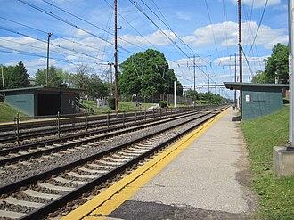 Norwood station - Image: Norwood Train Station