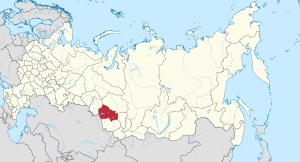 Novosibirsk in Russia.svg