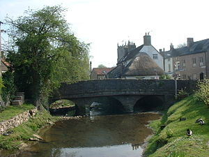 Nunney - Image: Nunney bridge