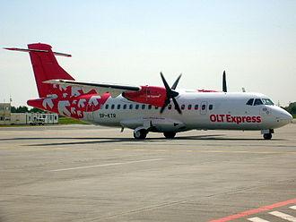 OLT Express - An OLT Express ATR 42