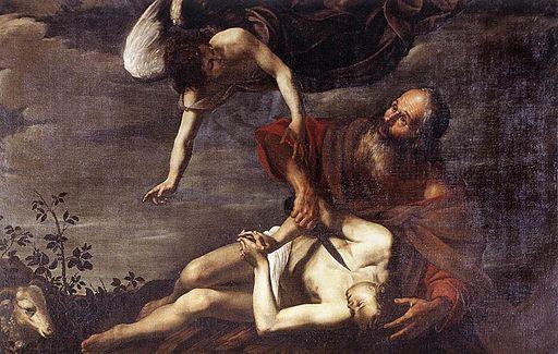 O Riminaldi 1625 Sacrificio de Isaac GN Arte Antica Roma