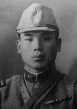 Japanese holdout - Second Lieutenant Sakae Ōba in 1937