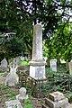Obelisk in the churchyard of All Saints Church, Carshalton.jpg
