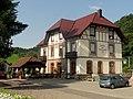 Oberharmersbach, Bahnhofshotel - Gasthaus Schwarzwälder Hof.jpg