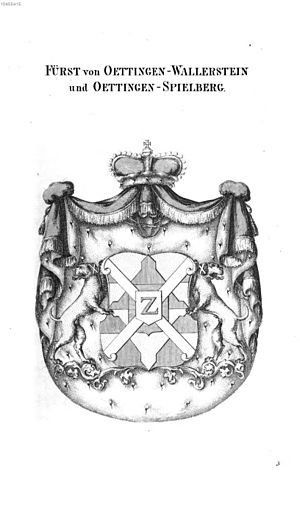 House of Oettingen-Wallerstein - Princely arms of the family