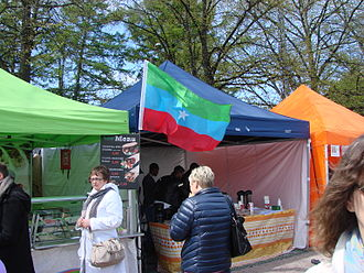 Insurgency in Ogaden - A group of Ogaden self-determination activists during the 2015 World Village Festival.