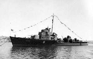 Ognevoy-class destroyer - Image: Ognevoy