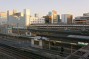Ōji Station (Nara) - JR-West's platforms