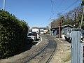 Okayama Electric Tramway Higashiyama rail yard - panoramio (2).jpg