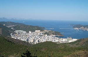 Okpo, Geoje - View of Okpo