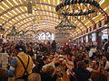 Oktoberfest 2005 - inside Löwenbräufestzelt.jpg