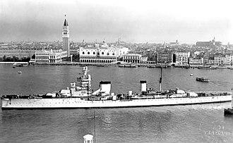 Giussano-class cruiser - Bartolomeo Colleoni in Venice
