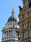 Old Bailey Central Criminal Court from Holborn Viaduct, City of London, England.jpg