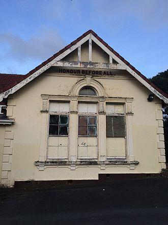 Mount Albert School - The old Mount Albert School building, on School Road, Kingsland, Auckland