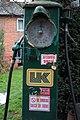 Old petrol pump, Turnastone - geograph.org.uk - 626072.jpg