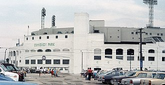 Comiskey Park - Comiskey Park in 1986