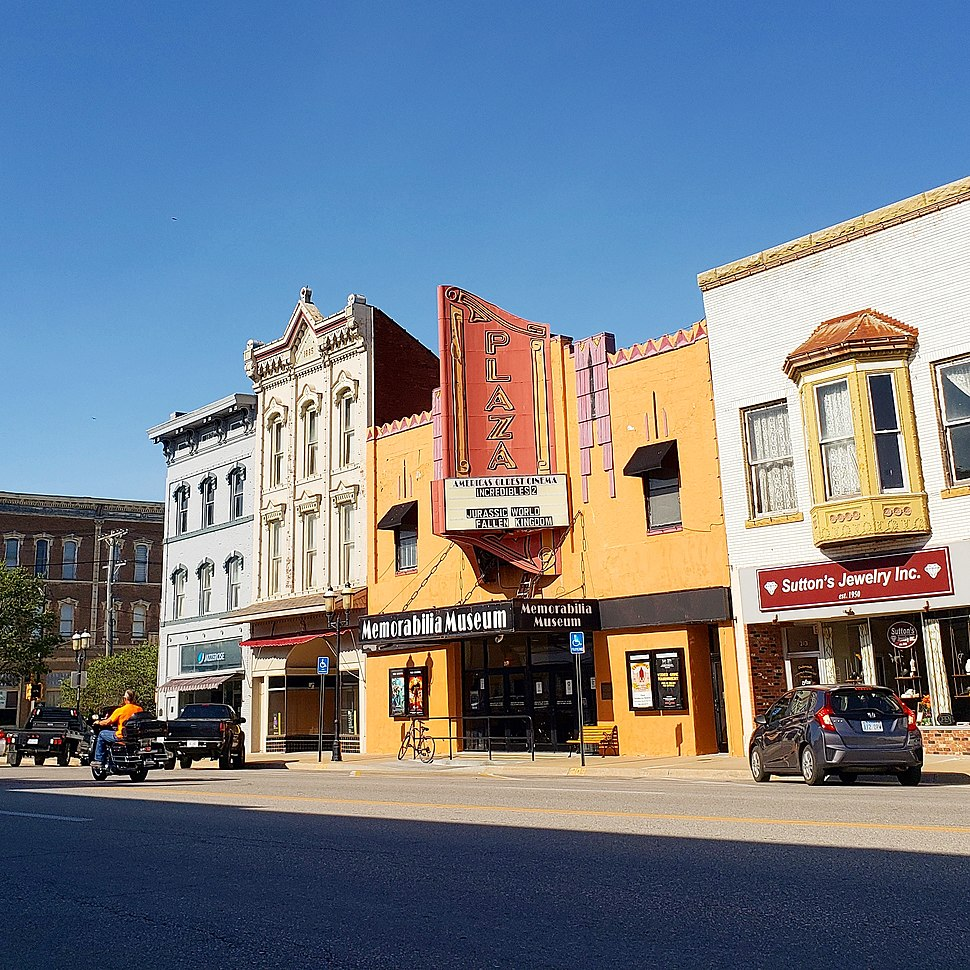 Oldest movie theater in the world - Downtown Ottawa, Kansas