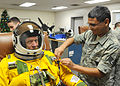 Oliver R. Crawford in Pressure Suit Dec 2009.jpg