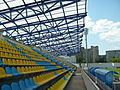On Borisov stadium east stand.JPG