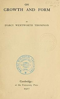 <i>On Growth and Form</i> book by DArcy Thompson