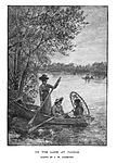On the lake at Vassar drawn by J W Champney.jpg