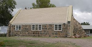 National Register of Historic Places listings in Pinal County, Arizona - Image: Oracle (Arizona) Union Church from W 1