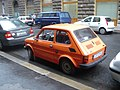 Orange Polski Fiat 126p 650E in Hungary.jpg
