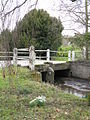 Orleton - Snowdrops At Millbrook Way Bridge - geograph.org.uk - 1746046.jpg