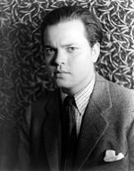 Publicity photograph of Orson Welles, dated 1937.
