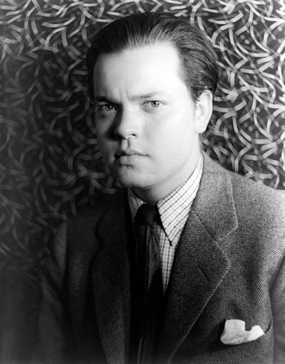 Orson Welles, American actor, director, writer and producer