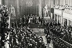 Oscar II of Sweden opens Parliament 1898.jpg