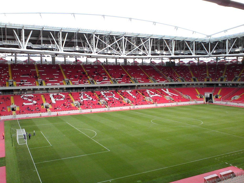 Otkrytiye stadium (Spartak). 30-08-2014