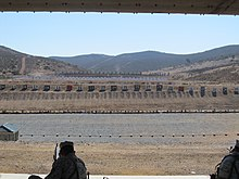 Outdoor firing range