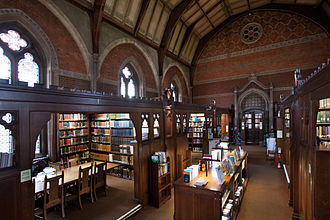 Keble College, Oxford - Keble Library