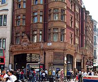 Oxford Circus tube station - Central Line Entrance.jpg