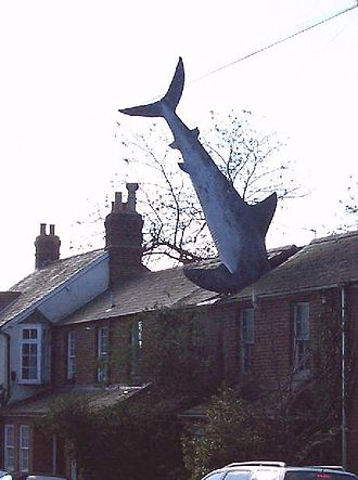 Headington - Image: Oxford shark