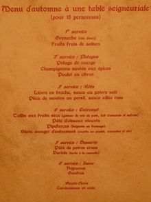 Menu Du Restaurant La Gamelle Saint Plantaire