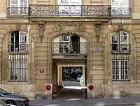 P1120057 Paris VI rue du Cherche-Midi n°89 rwk.JPG